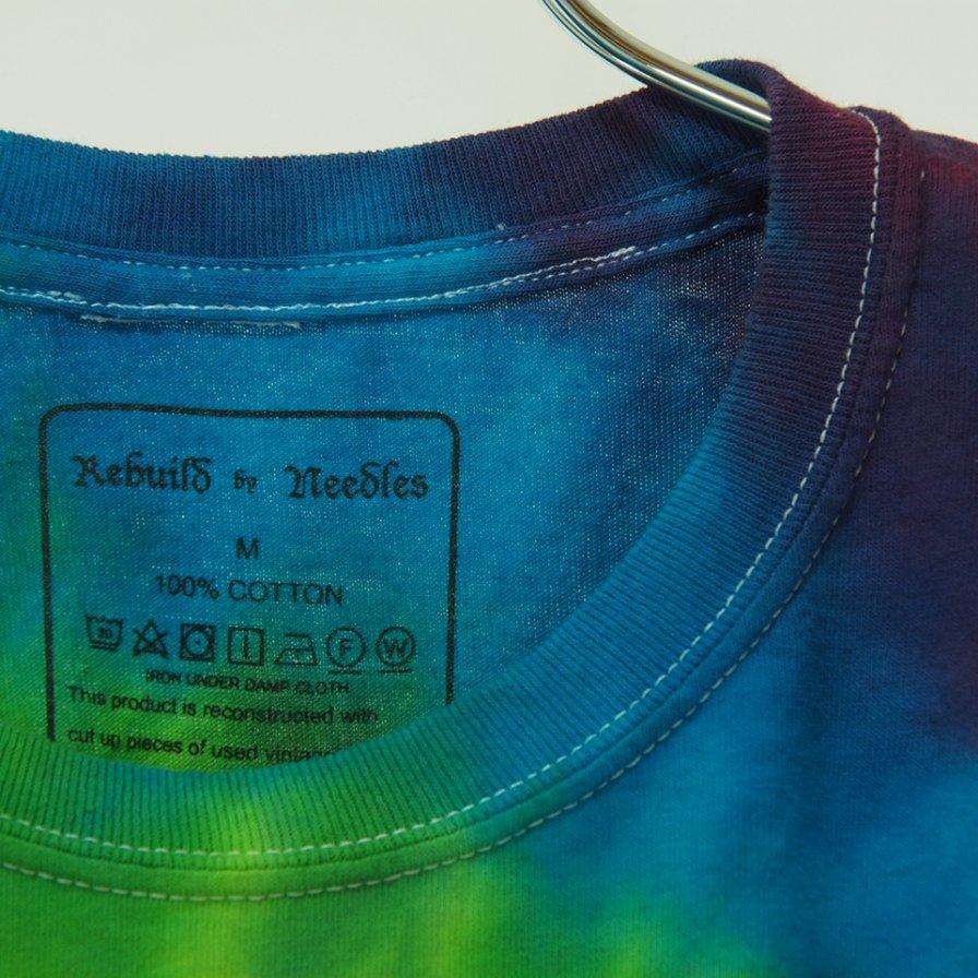 Rebuild by Needles - 5 Cuts Tee - Tie Dye - Spiral