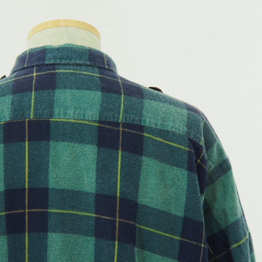 Rebuild by Needles - Flannel Shirt → Ribbon Shirt - L Size