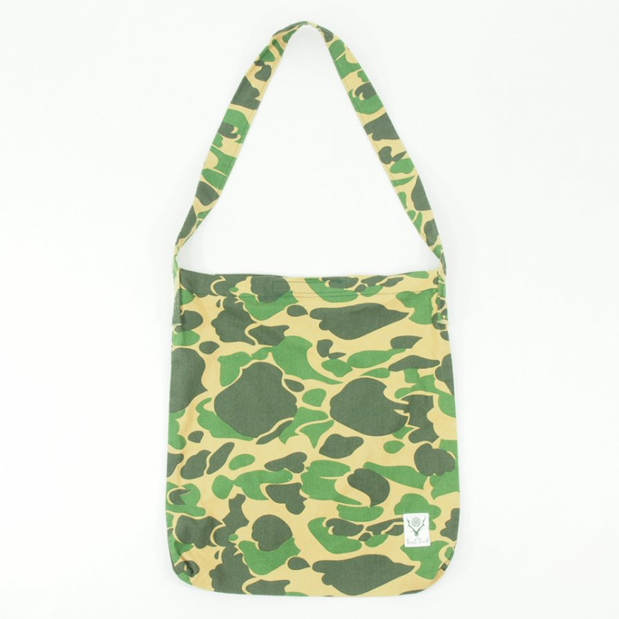 South2 West8 サウスツーウエストエイト - Book Bag - Printed Flannel / Camouflage - Duck Hunter