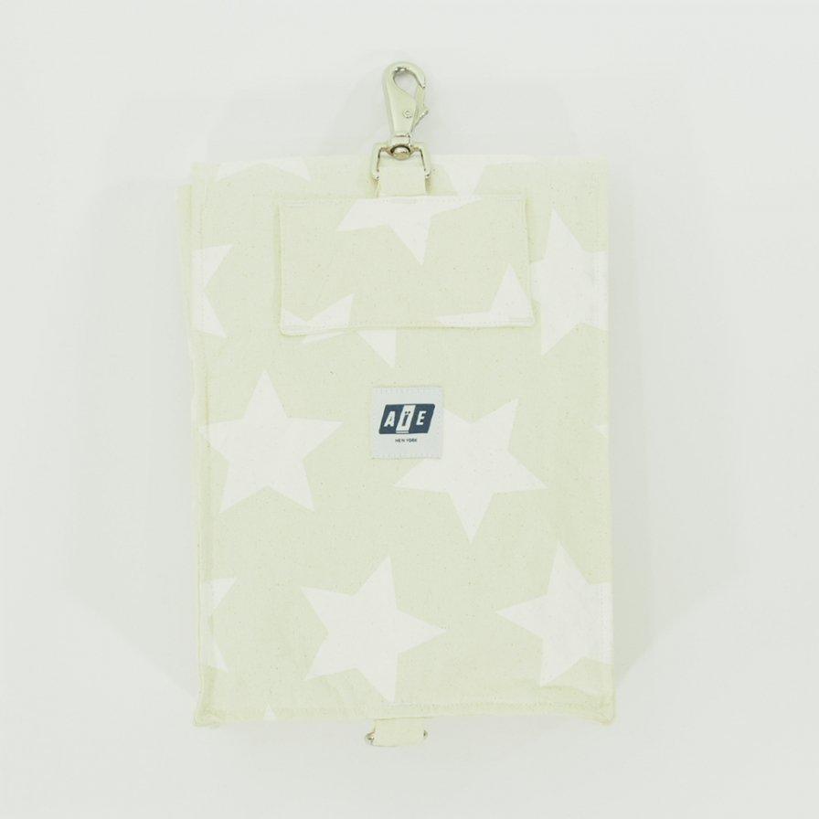 AiE エーアイイー - EST Bag - 9oz Star Canvas - Nat / Wht