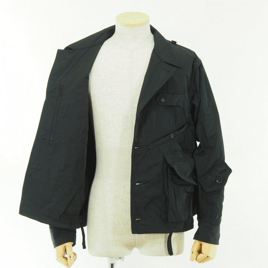 South2 West8 サウスツーウエストエイト - Tenkara Shirt - Poly Gabardine - Black