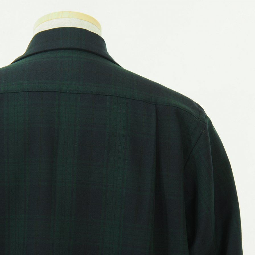 South2 West8 サウスツーウエストエイト - 6 Pocket Classic Shirt - Blackwatch - Green/Navy