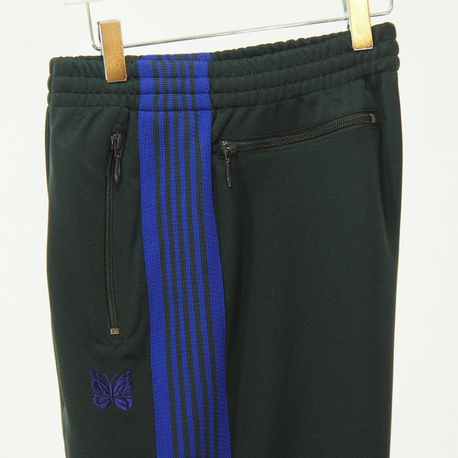 Needles ニードルズ - Track Pant - Poly Smooth - Charcoal