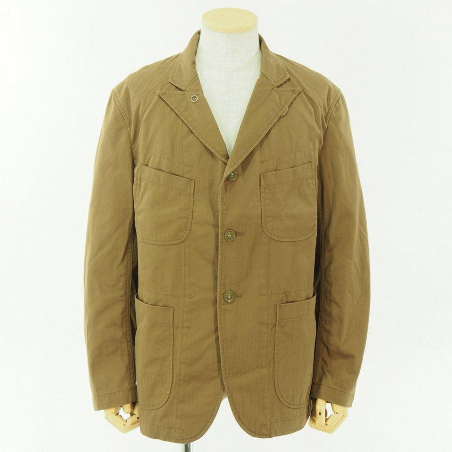 Engineered Garments エンジニアドガーメンツ - Bedford Jacket - HB Twill - Brown