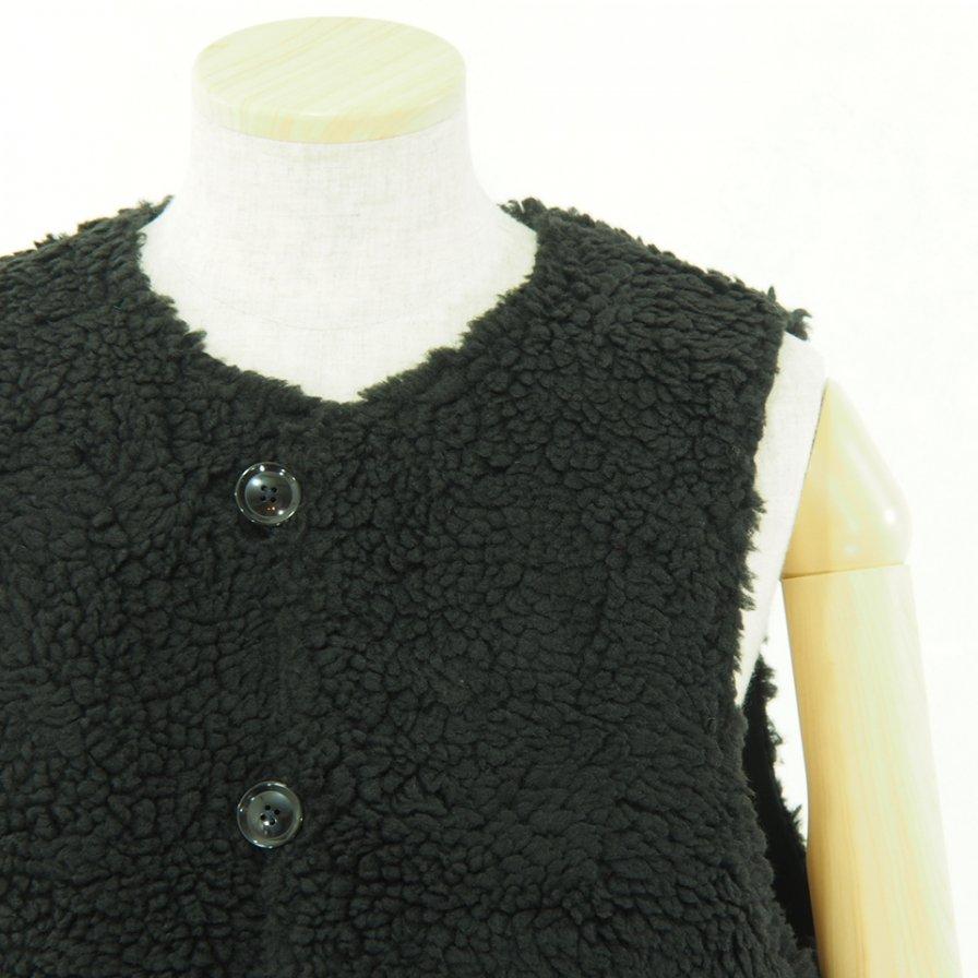 Engineered Garments エンジニアドガーメンツ - Over Vest - Double Cloth - Navy
