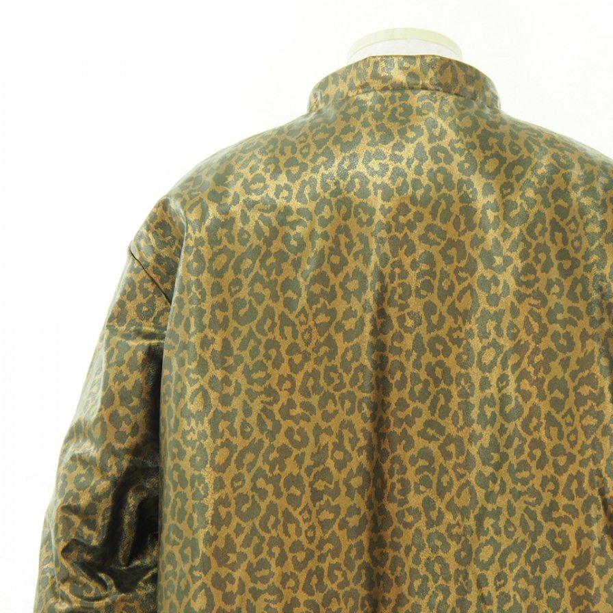 Needles ニードルズ - S.C. Sur Coat - Faux Lthr. / Leopard - Brown
