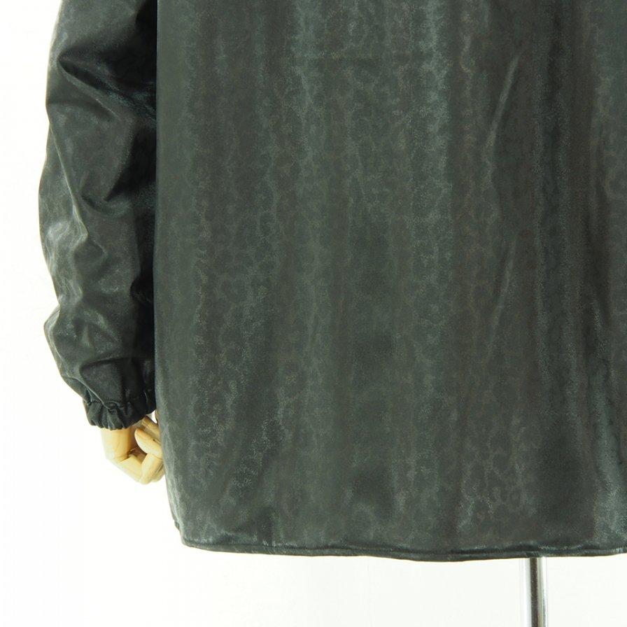 Needles ニードルズ - S.C. Sur Coat - Faux Lthr. / Leopard - Black