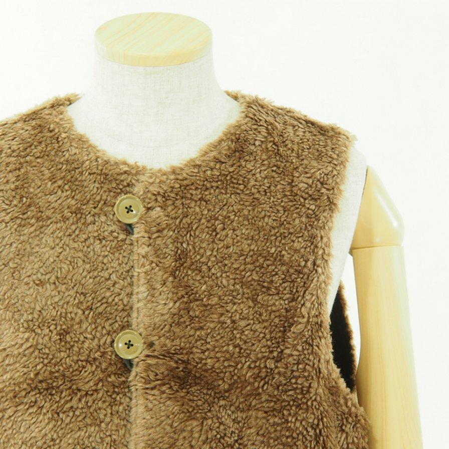 Engineered Garments エンジニアドガーメンツ - Over Vest - Coated Twill - Dk.Olive