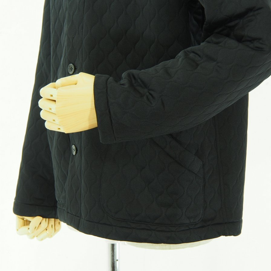 the conspires コンスパイアーズ - Quilting NC Jacket - Black