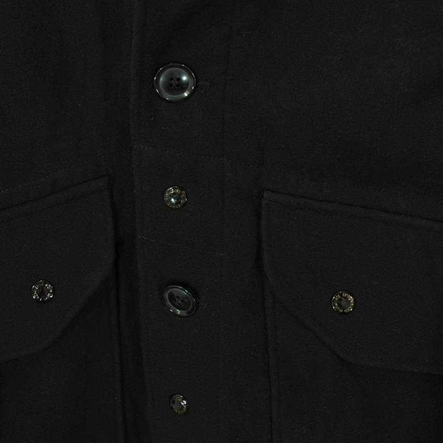 Engineered Garments エンジニアドガーメンツ - Madison Parka - Fake Melton - Black