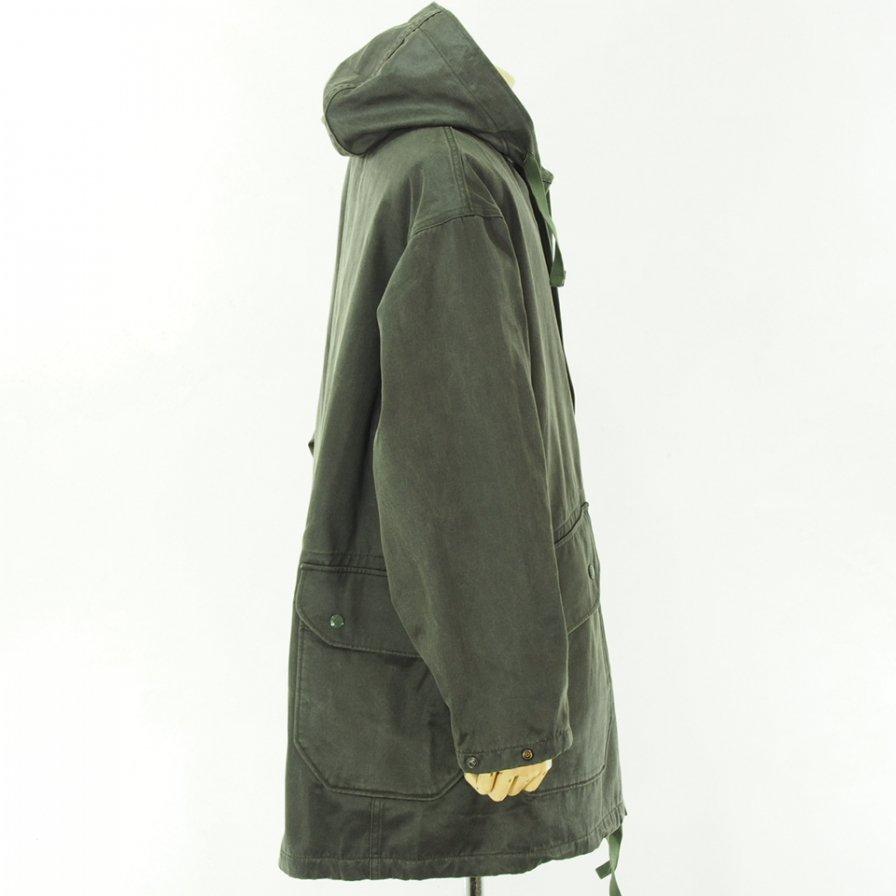 Engineered Garments エンジニアドガーメンツ - Madison Parka - Coated Twill - Dk.Olive