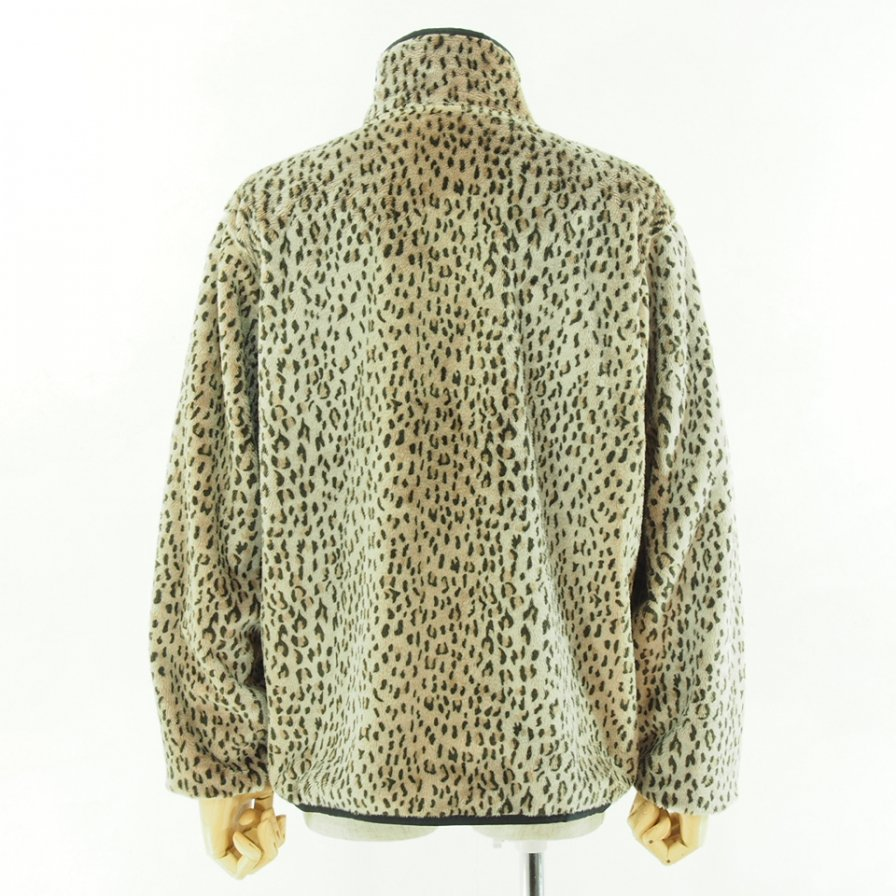 Needles Sports  ニードルズスポーツ - W.U.piping Jacket - Faux Fur - Leopard