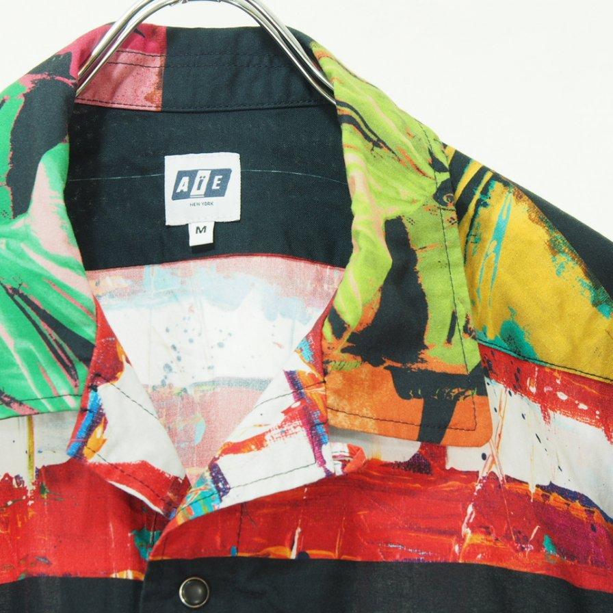 AiE エーアイイー - Coach Shirt - Liberty Print - Multi Color