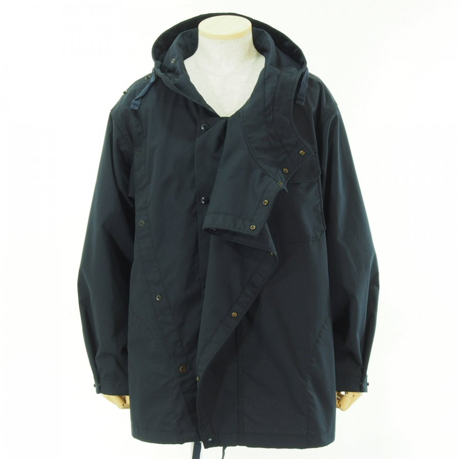 Engineered Garments エンジニアドガーメンツ - Sonor Shirt Jacket - Nyco Ripstop - Dk.Navy