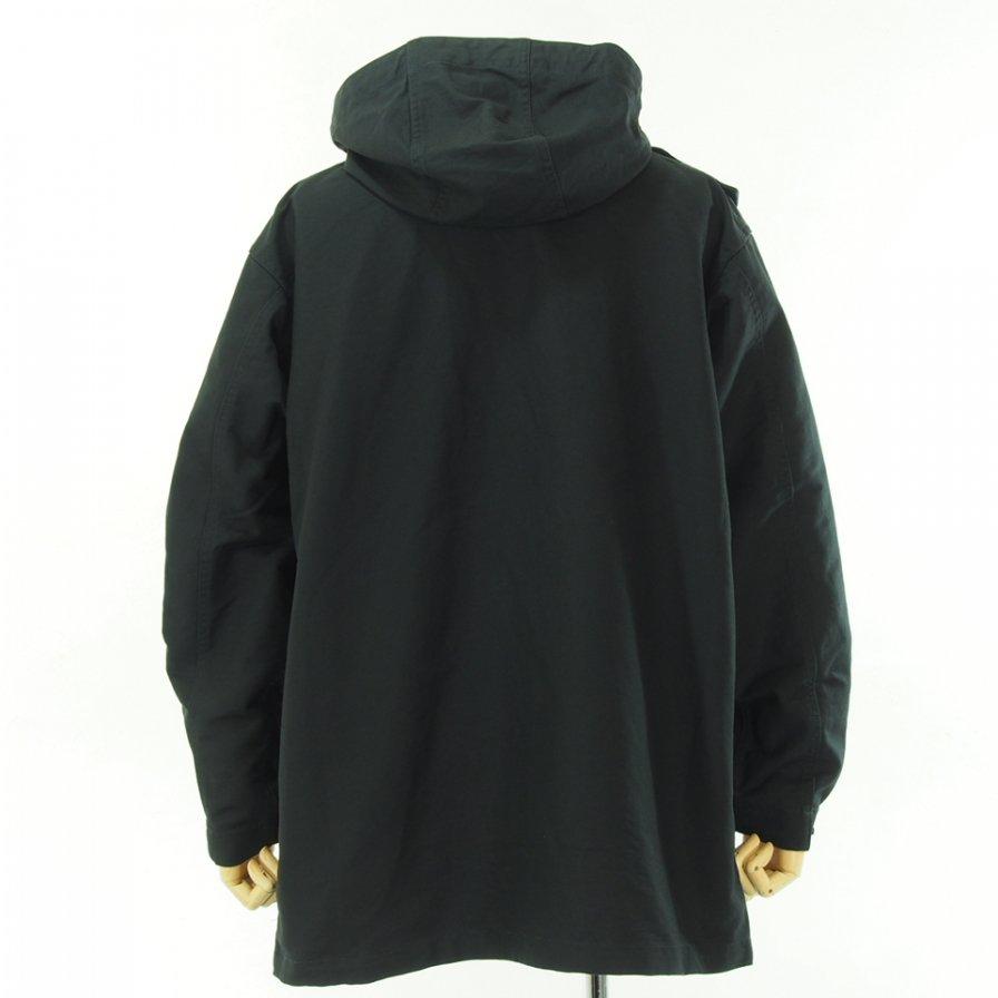 Engineered Garments エンジニアドガーメンツ - Sonor Shirt Jacket - Double Cloth - Black