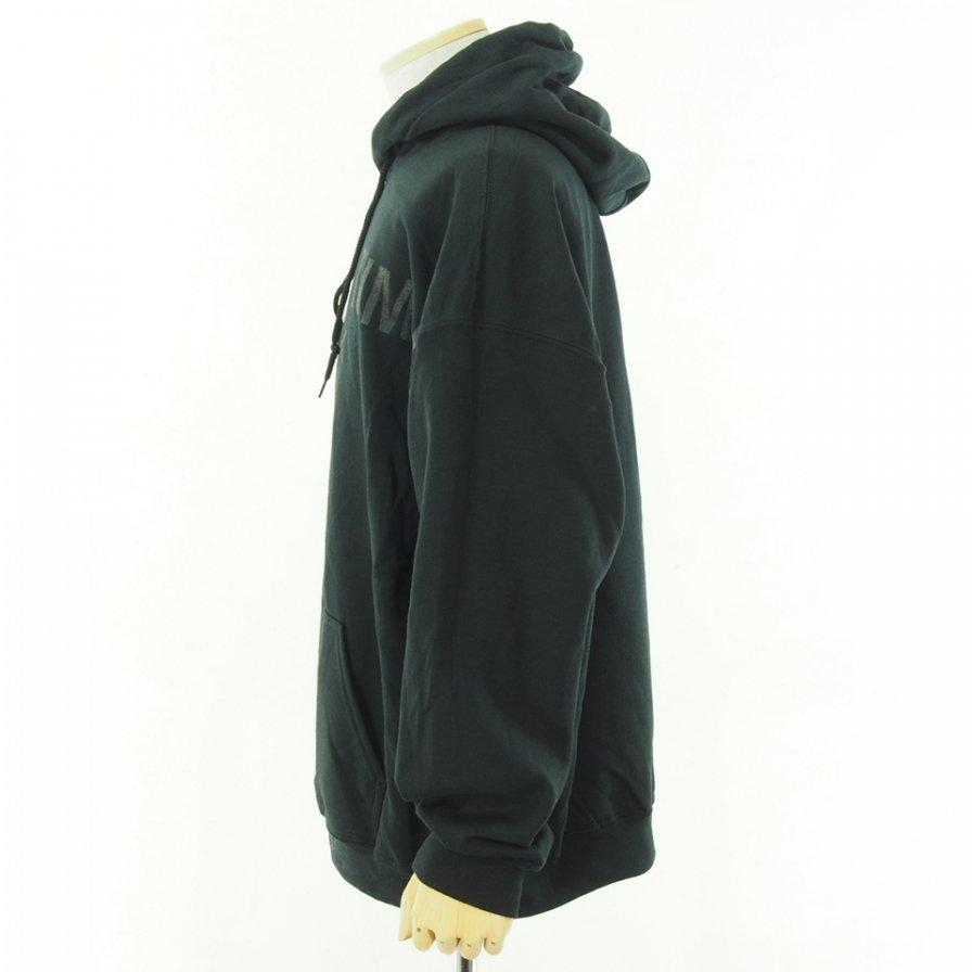 RANDT アールアンドティ - Logo Printed Hoody - Black