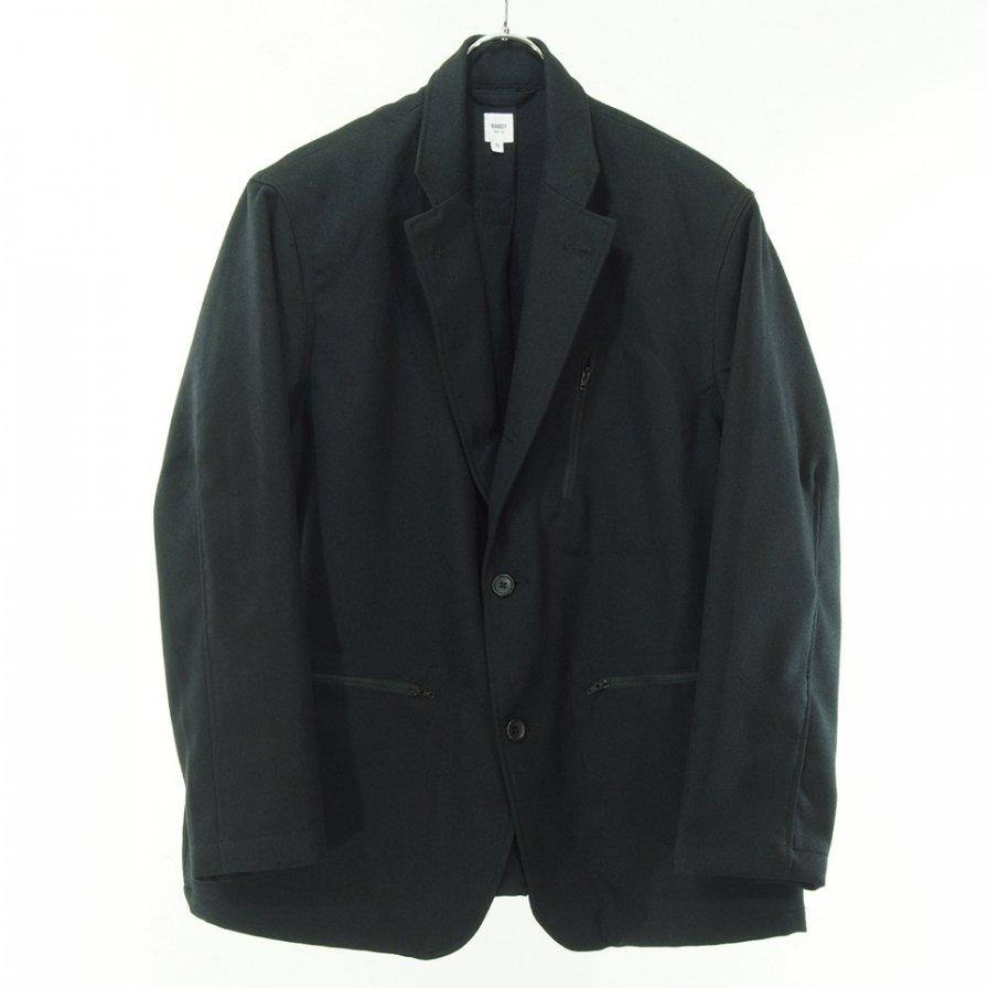 RANDT アールアンドティ - Daily Jacket - Dry Serge - Black
