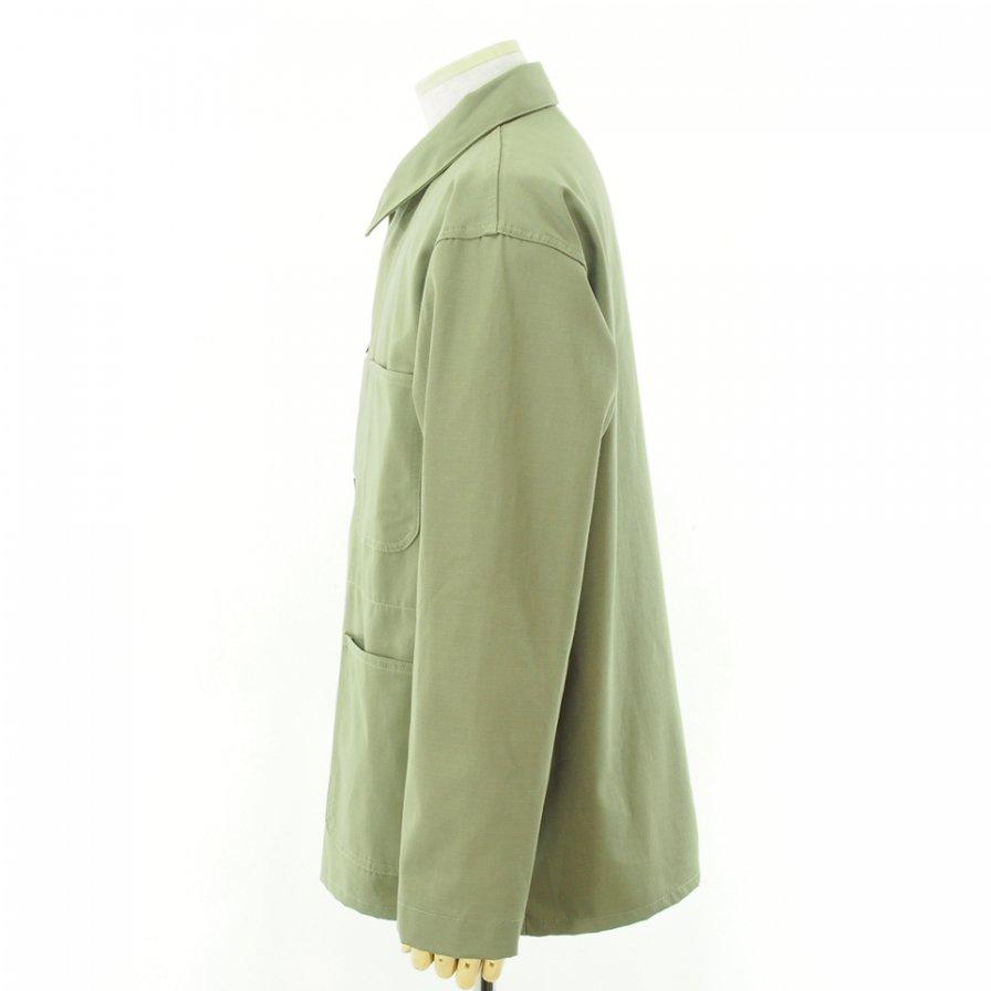 EG WORKADAY イージーワーカデイ - Utility Jacket - Cotton Ripstop - Khaki