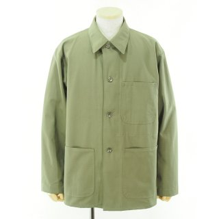 EG WORKADAY イージーワーカデイ - Utility Jacket - Cotton Ripstop - Khaki