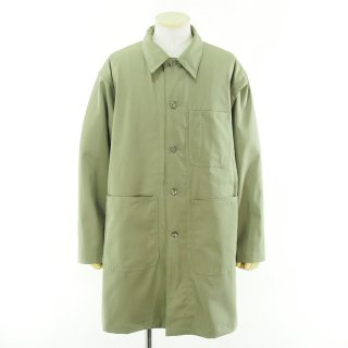 EG WORKADAY イージーワーカデイ - Shop Coat - Cotton Ripstop - Khaki