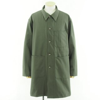 EG WORKADAY イージーワーカデイ - Shop Coat - Cotton Ripstop - Olive