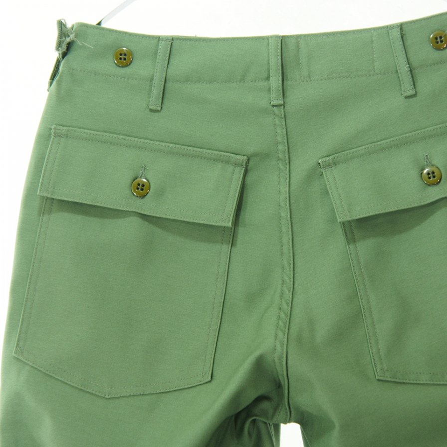 EG WORKADAY - Fatigue Pant - Reversed Sateen - Olive