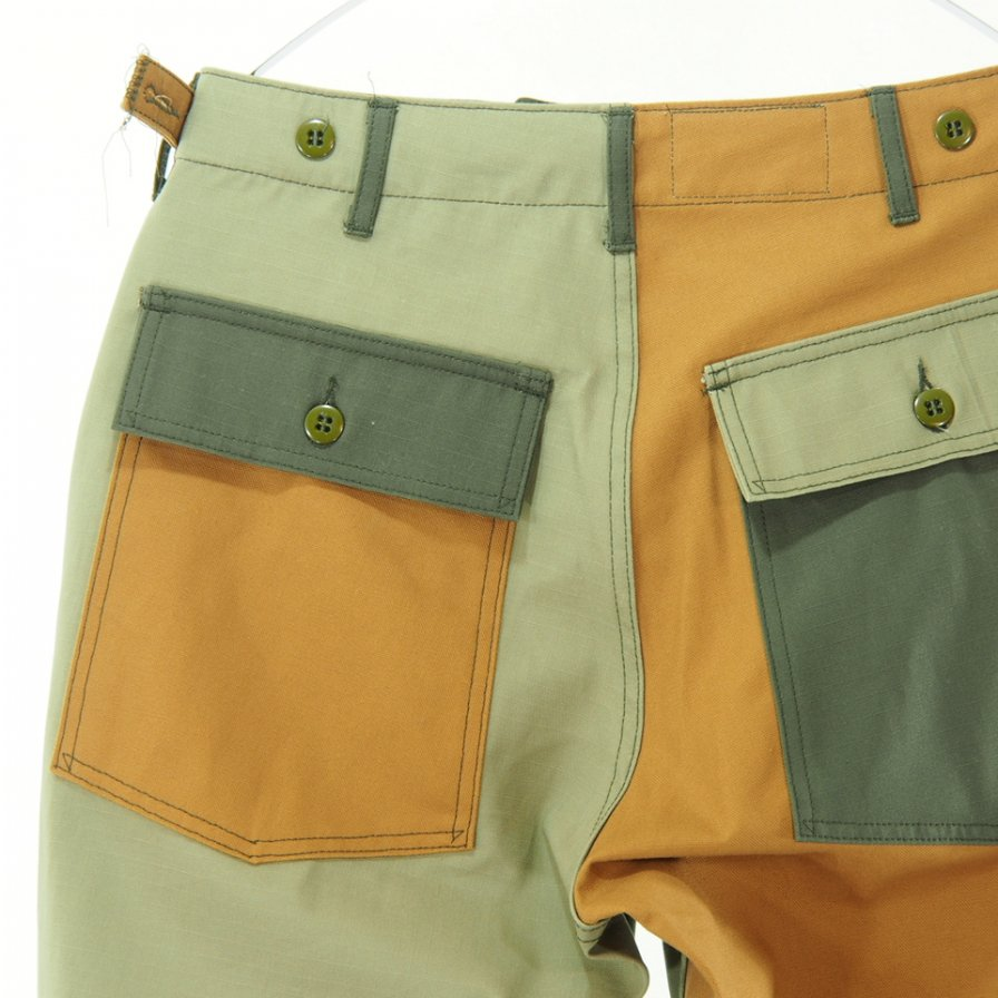 EG WORKADAY - Fatigue Pant Combo - Cotton Ripstop - Olive