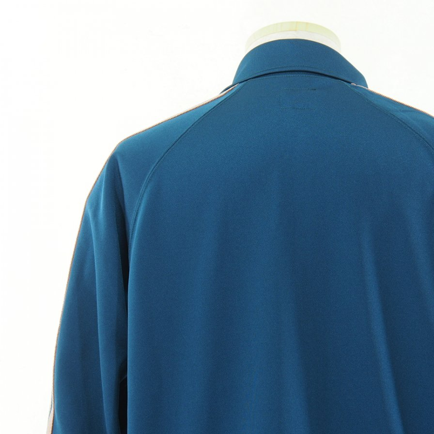 Needles ニードルズ - Track Jacket トラックジャケット - Poly Smooth - Teal Green