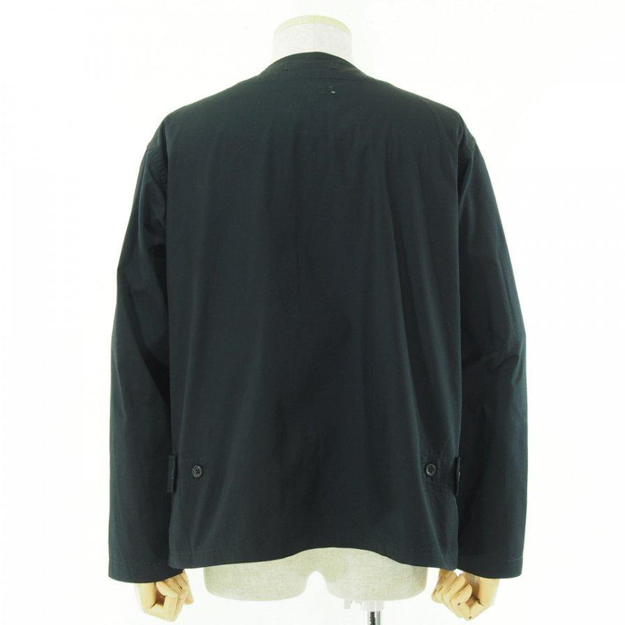 Engineered Garments エンジニアドガーメンツ - Cardigan Jacket カーディガンジャケット - High Count Twill - Black