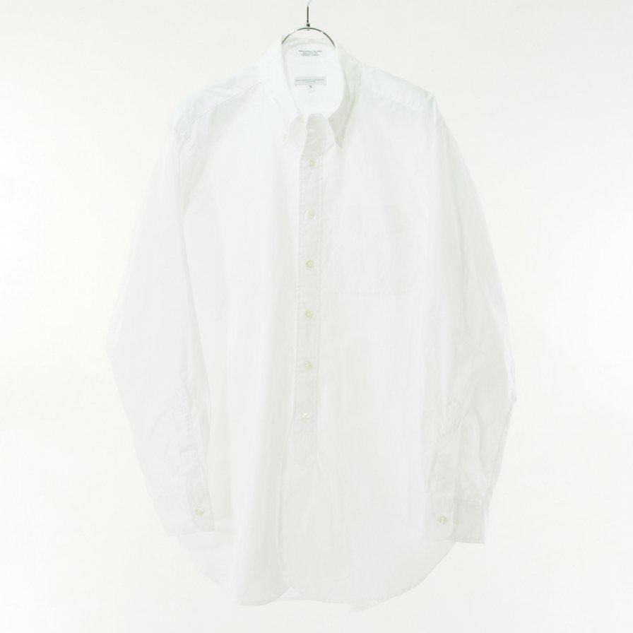 Engineered Garments エンジニアドガーメンツ - 19 Century BD Shirt - 100'S 2Ply Broadcloth - White
