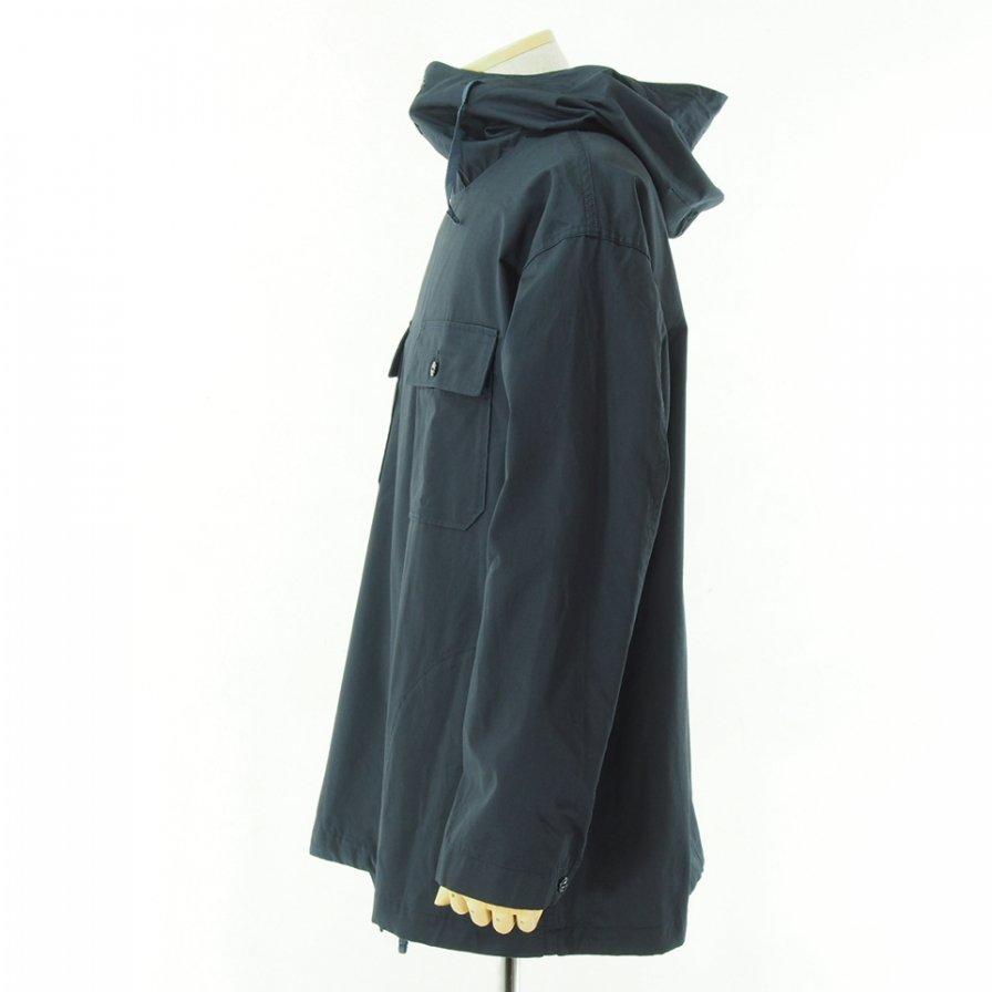 Engineered Garments エンジニアドガーメンツ - Cagoule Shirt カグールシャツ -  High Count Twill - Dk.Navy