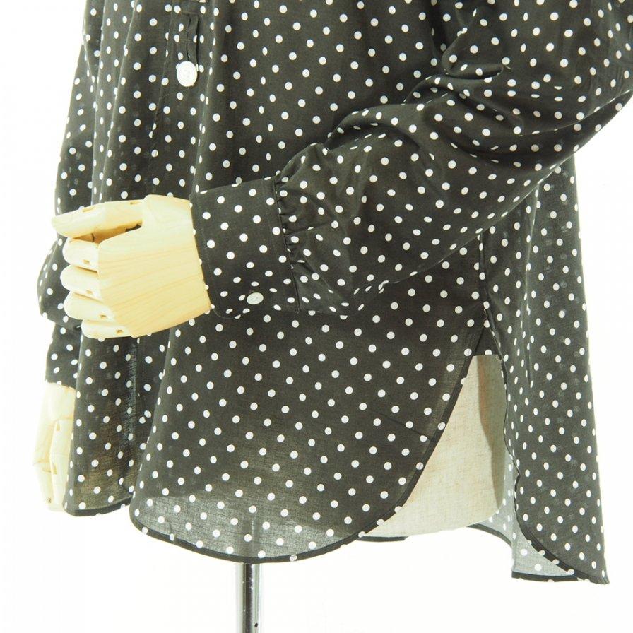 Needles ニードルズ - Pinhole EDW Shirt ピンホールエドワードシャツ - Polka Dot Pt. - Brown