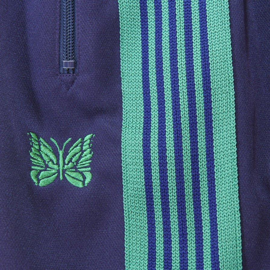 Needles ニードルズ - Track Pant トラックパンツ - Poly Smooth - Eggplant