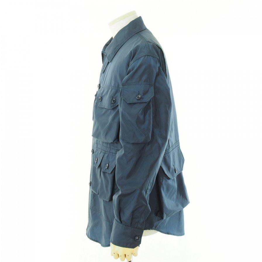 Engineered Garments エンジニアドガーメンツ - Explorer Shirt Jacket エクスプローラーシャツ - Nylon Micro Ripstop - Navy