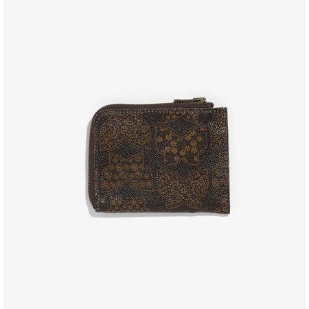Needles ニードルズ - Coin Case - Papillon PVC - Brown