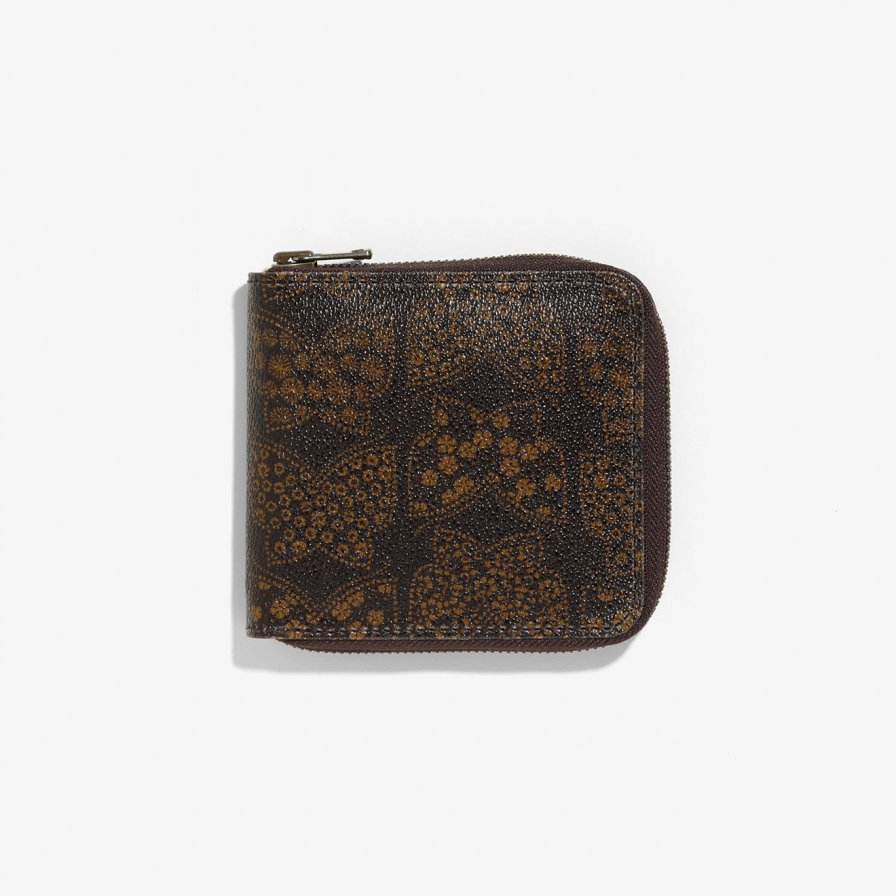 Needles ニードルズ - Single Wallet - Papillon PVC - Brown