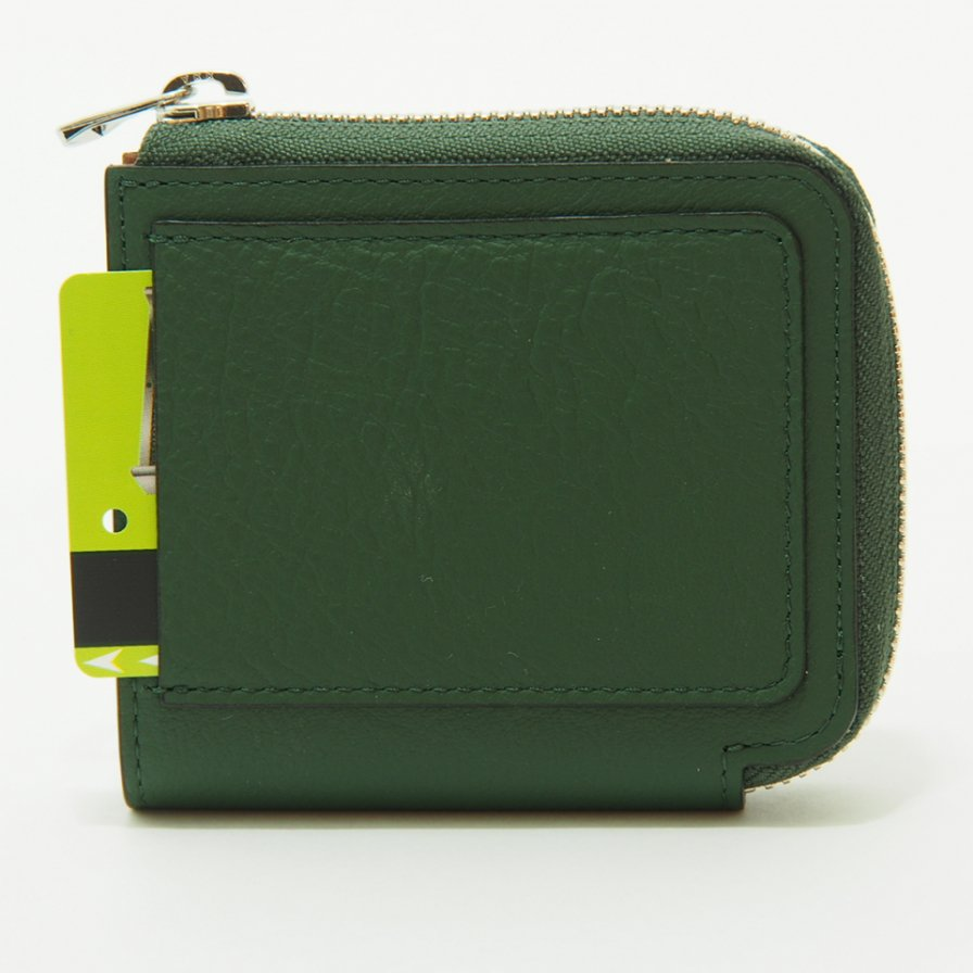 ITTI イッチ - Cristy Very Compact WLT .5 クリスティーベリーコンパクトウォレット / Connolly - VT Green