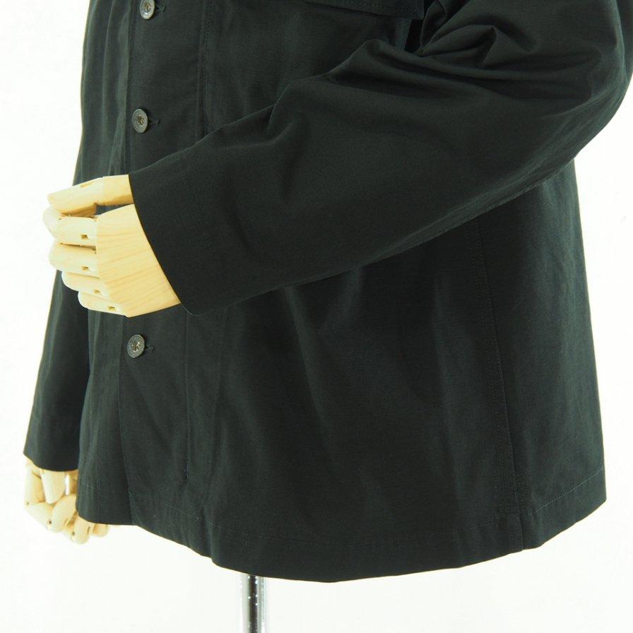 Engineered Garments エンジニアドガーメンツ - M43/2 Shirt Jacket M43/2シャツジャケット - Cotton Ripstop - Black
