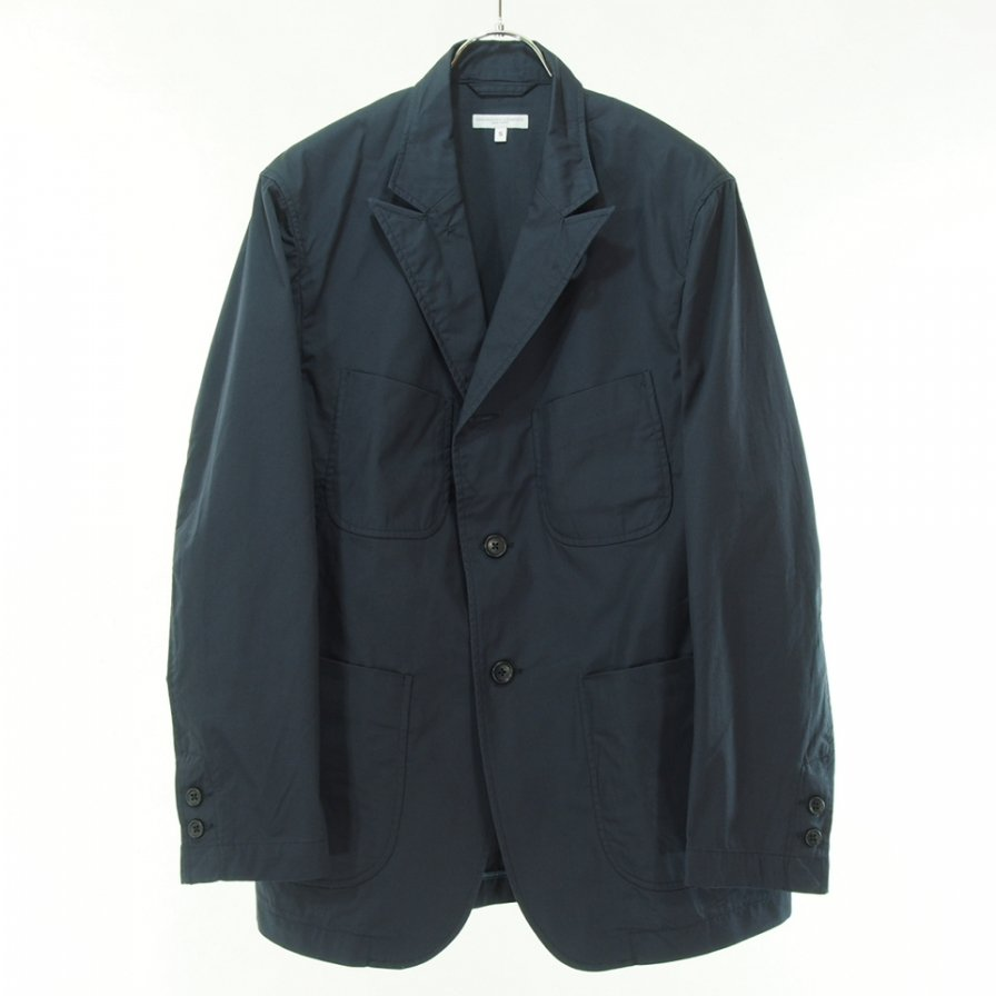 Engineered Garments エンジニアドガーメンツ - NB Jacket エヌビージャケット -  High Count Twill - Dk.Navy
