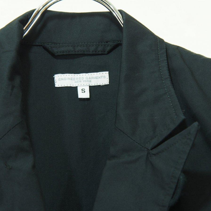 Engineered Garments エンジニアドガーメンツ - NB Jacket エヌビージャケット -  High Count Twill - Black