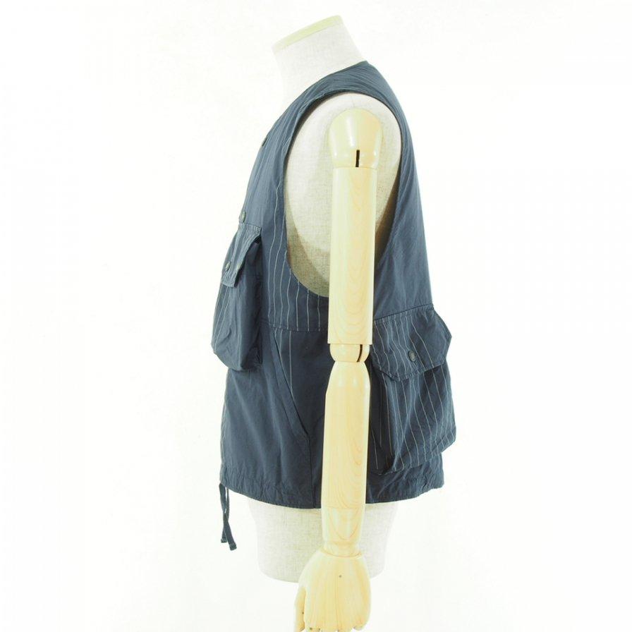 Engineered Garments - Cover Vest カバーベスト - Nyco Gangstar - Dk.Navy