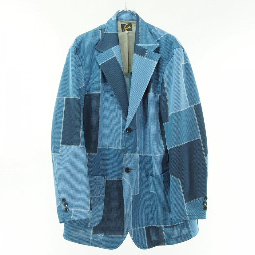 Needles ニードルズ - 2B Jacket ツービージャケット - Poly Jq. - Patchwork