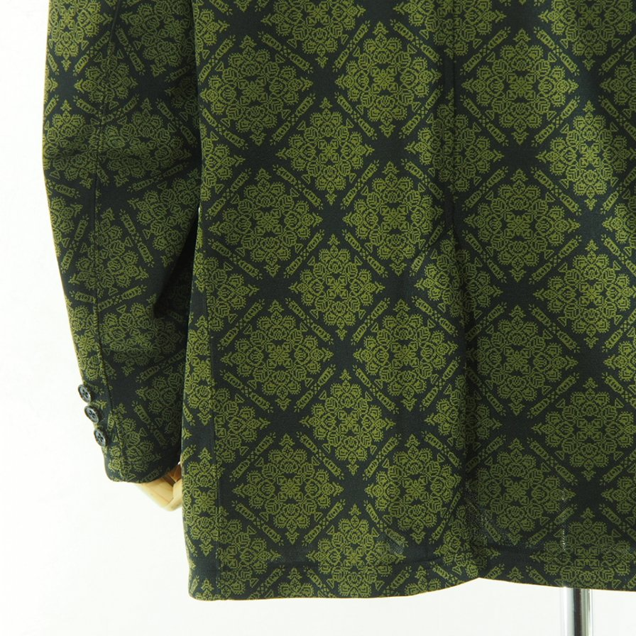 Needles ニードルズ - 2B Jacket ツービージャケット - Poly Jq. - Damask
