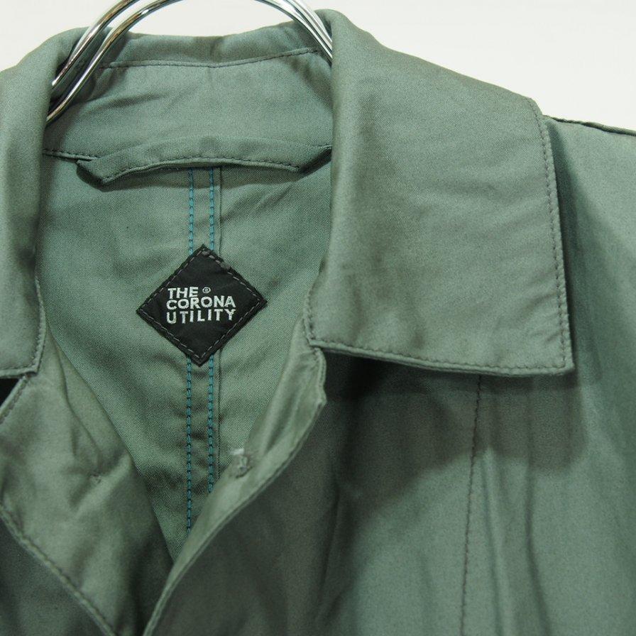 CORONA コロナ - C Field Coat シーフィールドコート - UCMC M51 NC Blocks / Sage Green