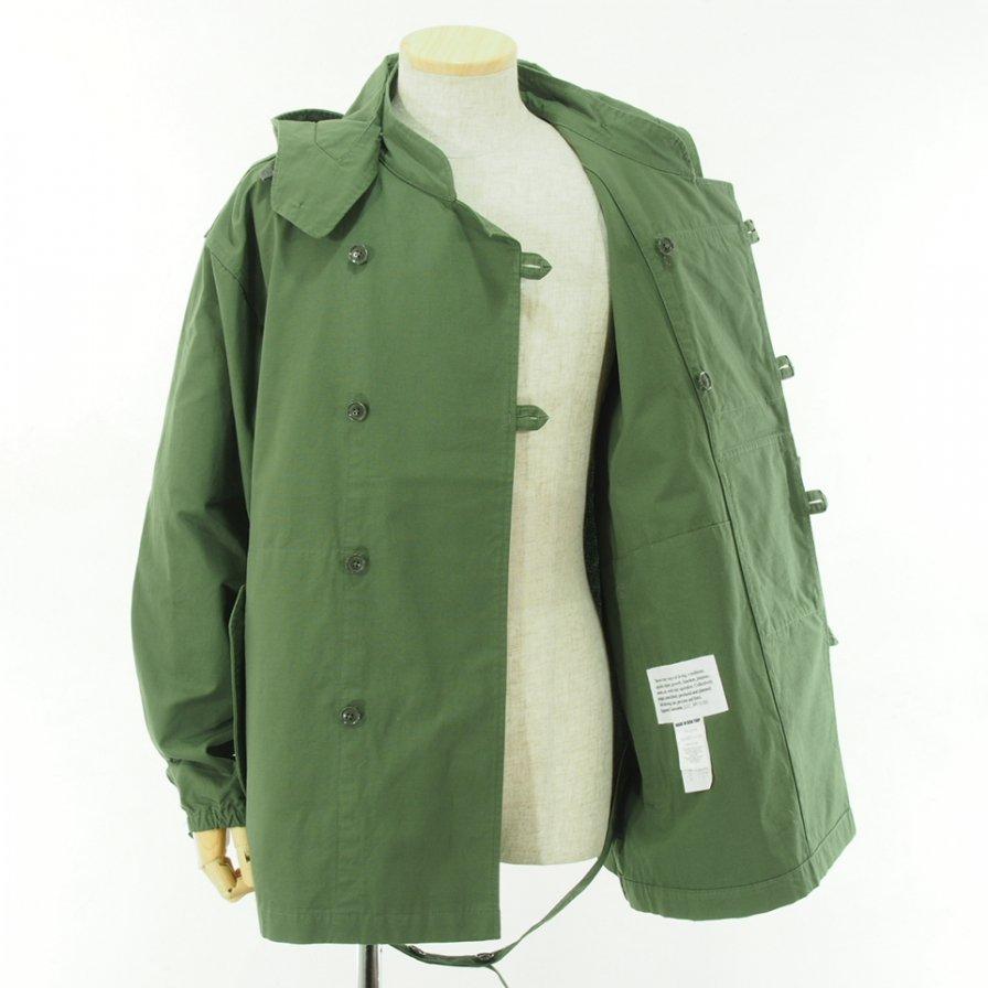 Engineered Garments エンジニアドガーメンツ - MT Jacket エムティージャケット - Cotton Ripstop - Olive