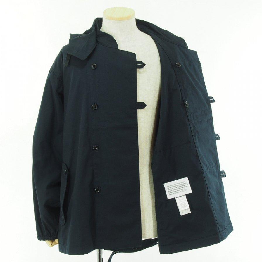 Engineered Garments エンジニアドガーメンツ - MT Jacket エムティージャケット - PC Poplin - Dk.Navy