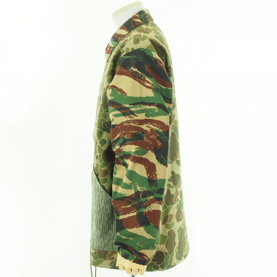 South2 West8 サウスツーウエストエイト - Coach Jacket コーチジャケット - Crazy Camo
