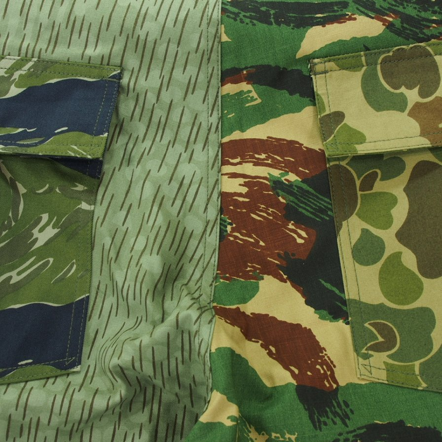 South2 West8 サウスツーウエストエイト - Fatigue Pant ファティーグパンツ - Crazy Camo