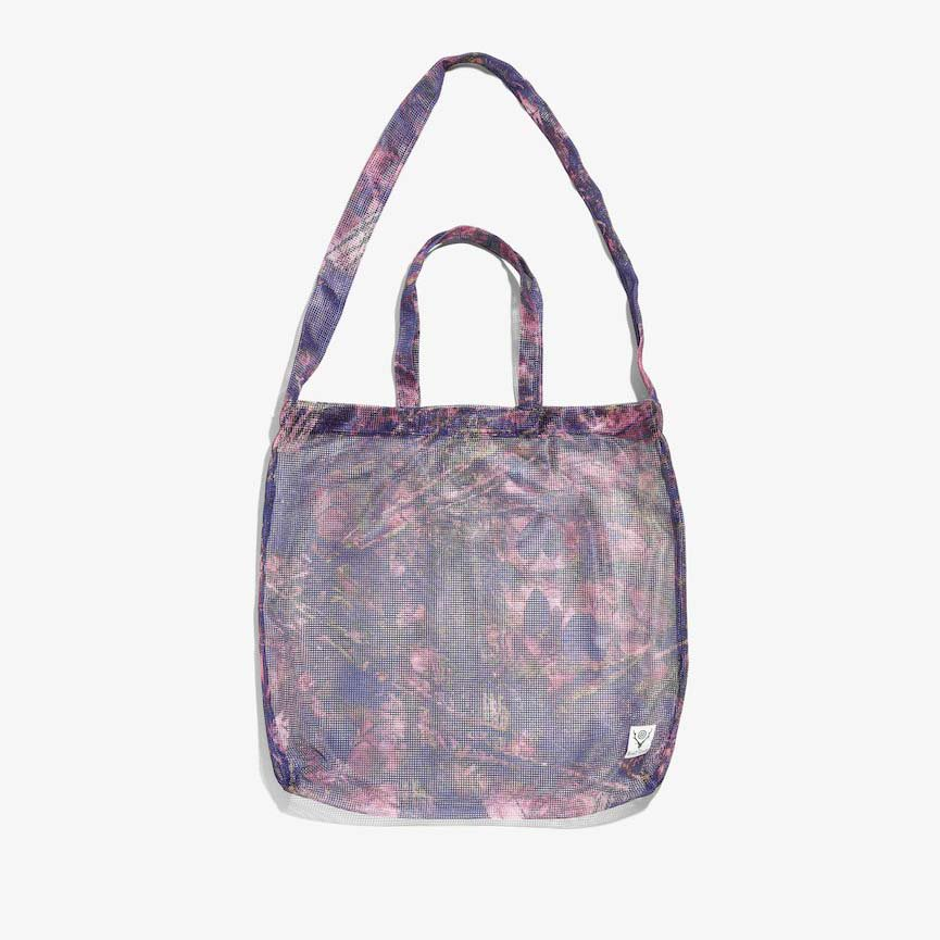South2 West8 サウスツーウエストエイト - Grocery Bag グロセリーバッグ - Poly Heavyweight Mesh / Print - S2W8 Camo