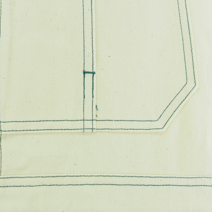 South2 West8 サウスツーウエストエイト - Overalls オーバーオールズ - 10oz Denim - Off White
